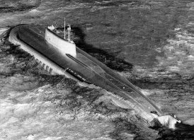 The Kursk sank on 12th August 2000, in the Barents Sea