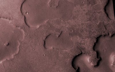 Martian lakes